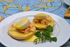 Lobster Eggs Bennedict